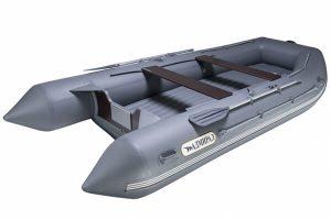 Лодка ПВХ Адмирал 410 НДНД надувная под мотор